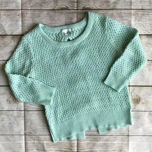 dELia*s Open-Back Pullover Sweater Size M